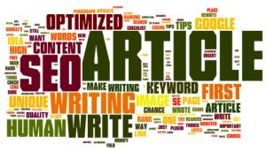 Optimizare seo prin intermediul articolelor