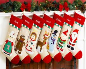 """Decorarea ciorapeilor de Craciun sau """"Christmas Stockings"""""""
