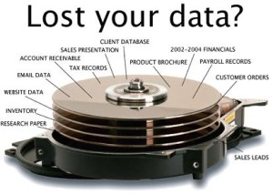 How can you recover data from your hard drive?