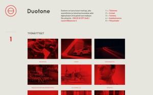 Duotone – un trend proaspat in designul de website