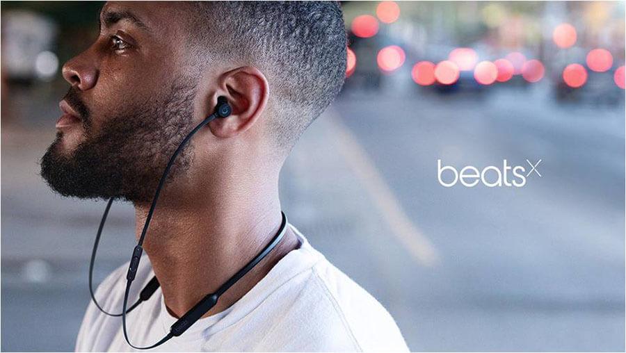 Castile bluetooth Beats BeatsX – performanta