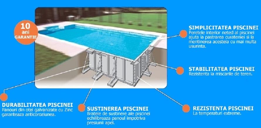 De ce sa aleg piscina din otel inoxidabil?